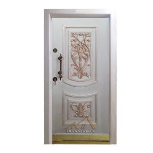 درب ضد سرقت دو قاب گلدان