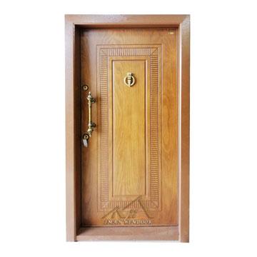 درب ضد سرقت تک قاب خطی