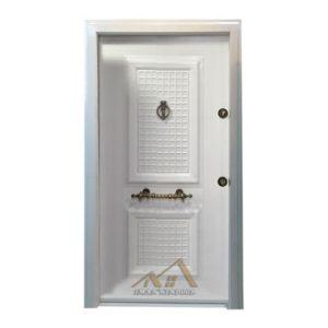 درب ضد سرقت رویه فلز مدل دو قاب