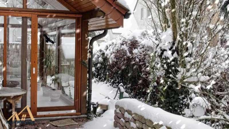 درب ضدس رقت مناسب آب و هوای کوهستانی