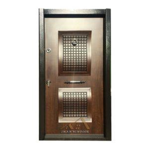 درب ضد سرقت دو قاب برجسته