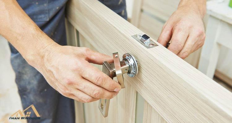 قفل و دستگیره درب ضد سرقت