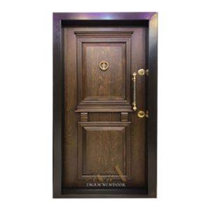درب ضد سرقت دو قاب برجسته لوکس