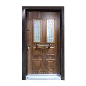 درب ضد سرقت مربع شیشه خور